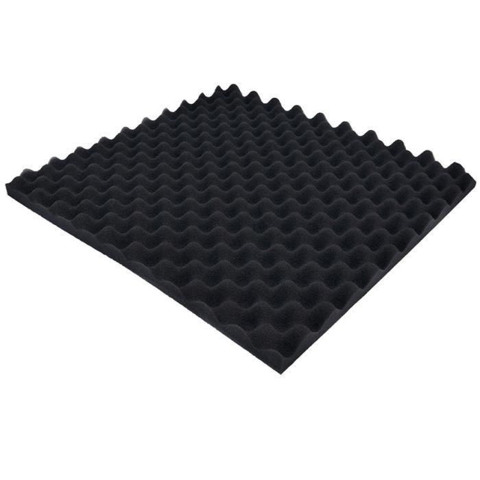 Mousse d/'Mousse auto-adhésif isolation acoustique Acoustique Protection CA 50x50x2c