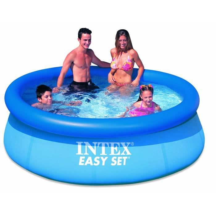 Piscine easy set intex 2 44 x 0 76 m achat vente for Piscine easy set intex