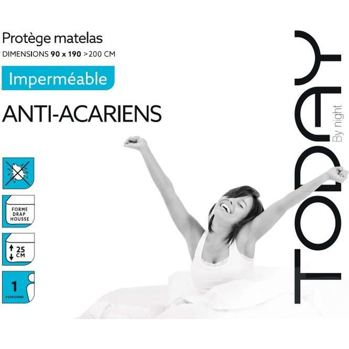 PROTÈGE MATELAS  TODAY Protège Matelas / Alèse Imperméable Anti-Aca