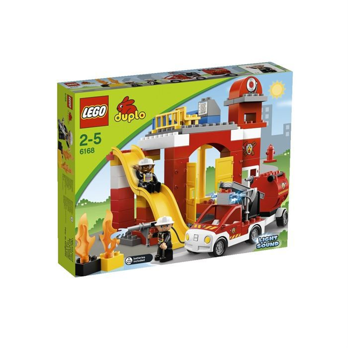 duplo lego ville la caserne de pompiers achat vente. Black Bedroom Furniture Sets. Home Design Ideas