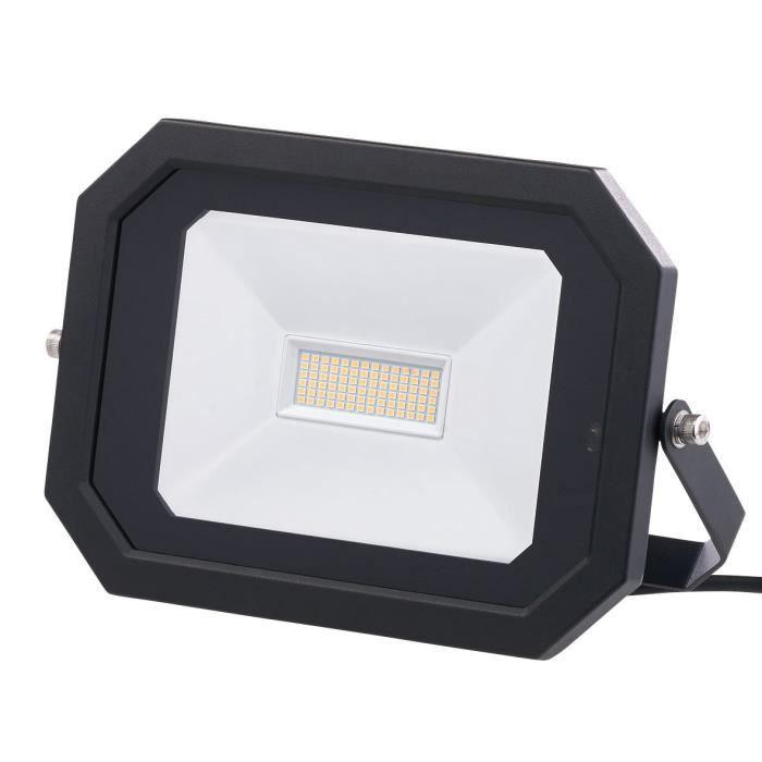 Perel 50 W DEL Projecteur Avec Détecteur mvt Et Télécommande Extérieur Lampe Murale