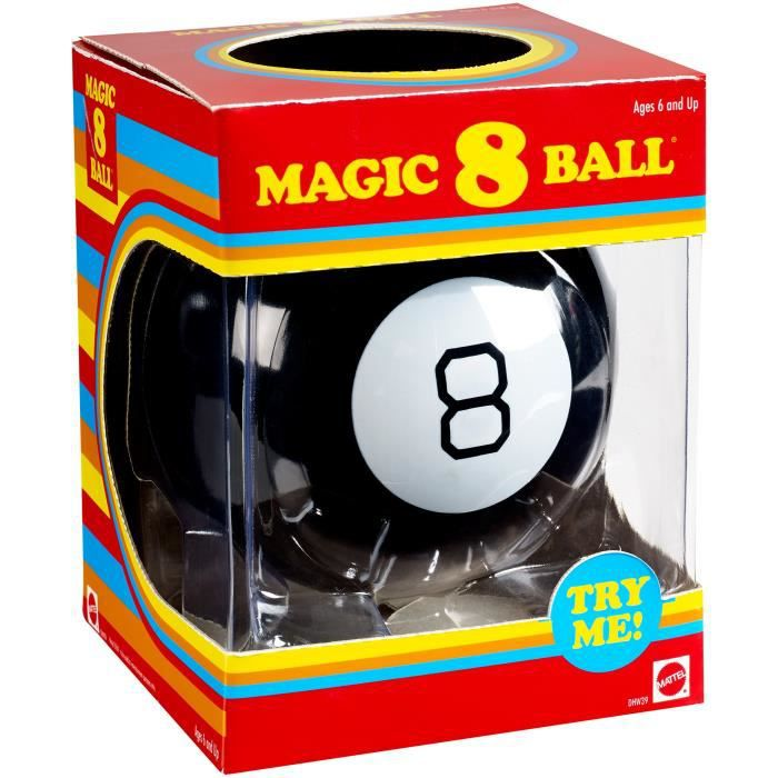 QUESTIONS - REPONSES Mattel Magic 8 Ball Batman Édition Jeu d'action J1