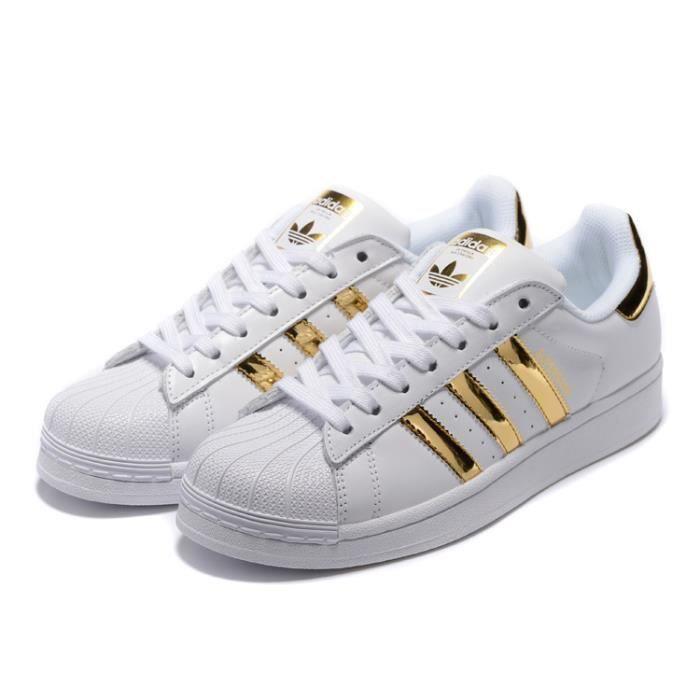 Baskets Adidas Originals Superstar Basses Chaussons Sneaker ...