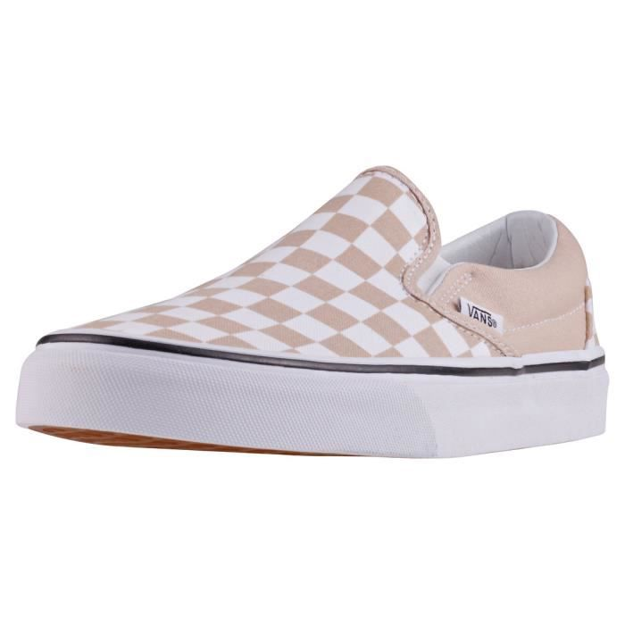 Vans Classic Slip-on Checkerboard Mixte Chaussures sans ...