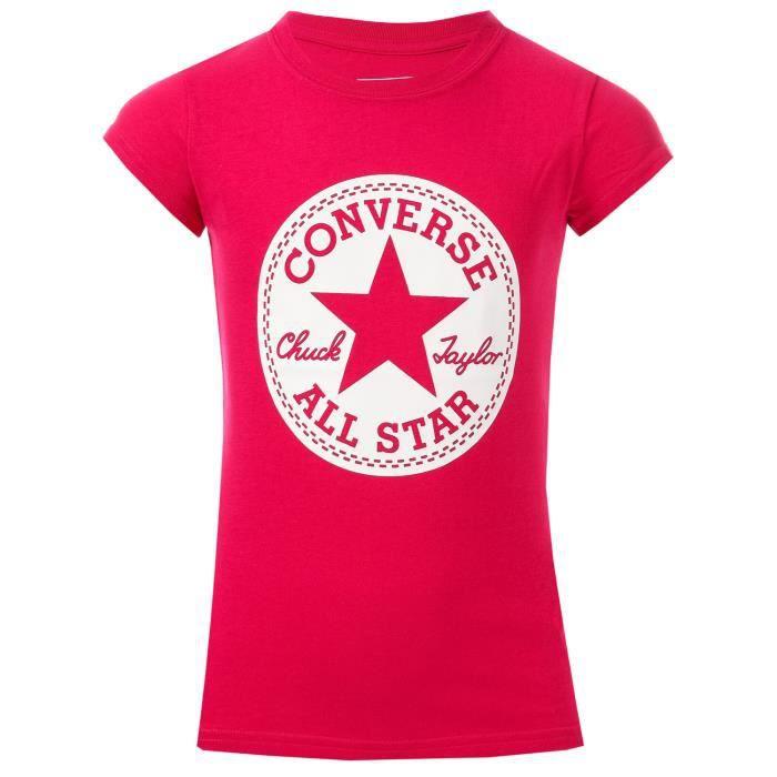 t shirt converse fille 8 ans