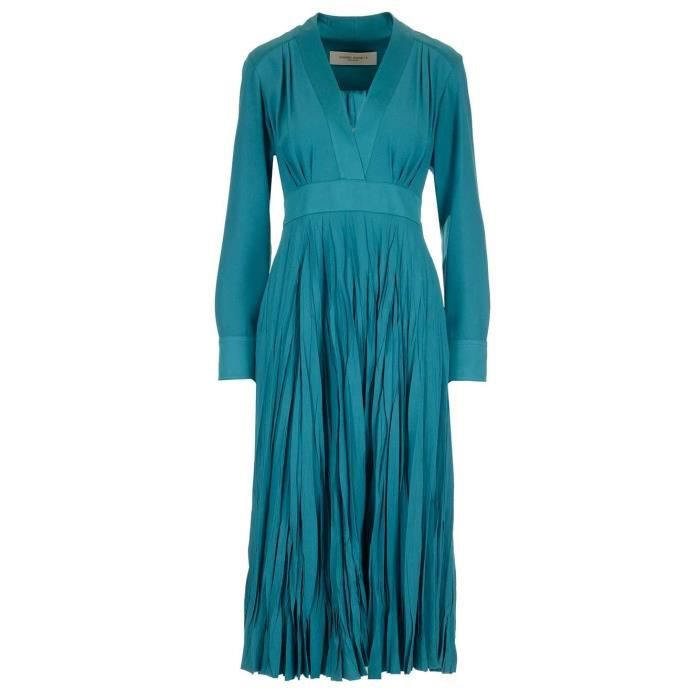 Golden Goose Femme Gwp00157p00010250511 Bleu Claire Acetate Robe Bleu Achat Vente Robe Cdiscount