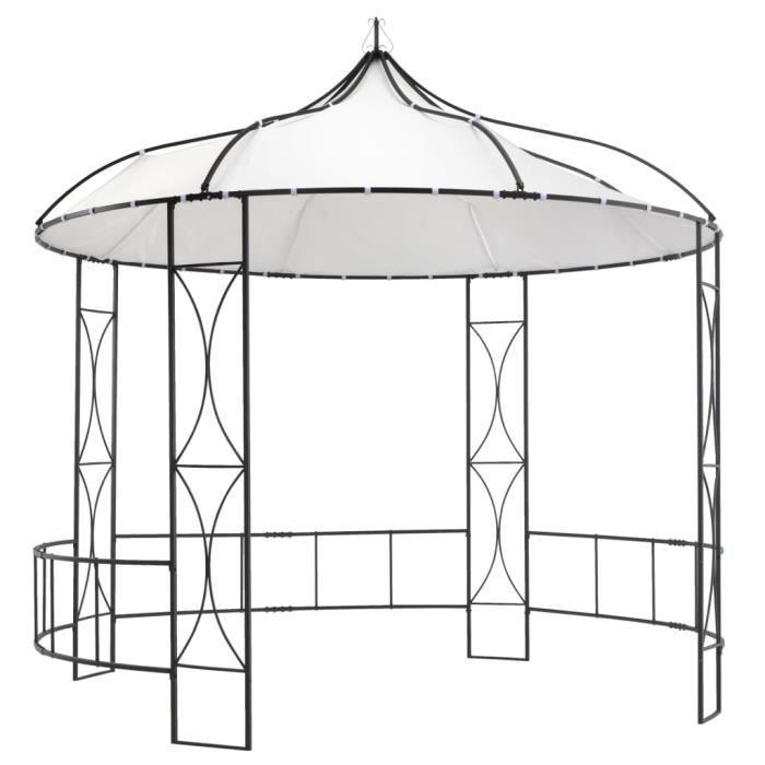 FESTNIGHT Tente de Reception Tente de Jardin chapiteau Jardin R/ésistance aux UV et /à leau tonnelle 3 x 6 m Anthracite