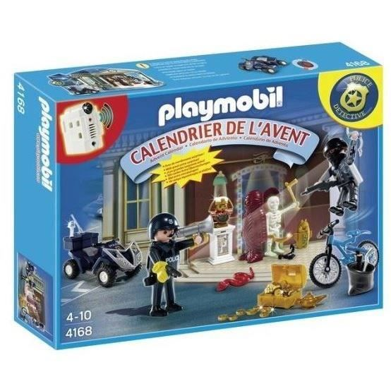 playmobil 4168 calendrier de l 39 avent policier achat. Black Bedroom Furniture Sets. Home Design Ideas