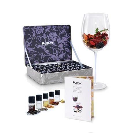 COFFRET SOMMELIER Set de 40 arômes du vin - Pulltex