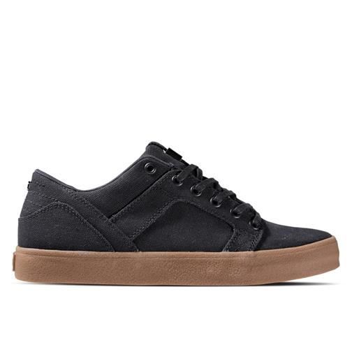SUPRA Skylow Black Canvas Gum