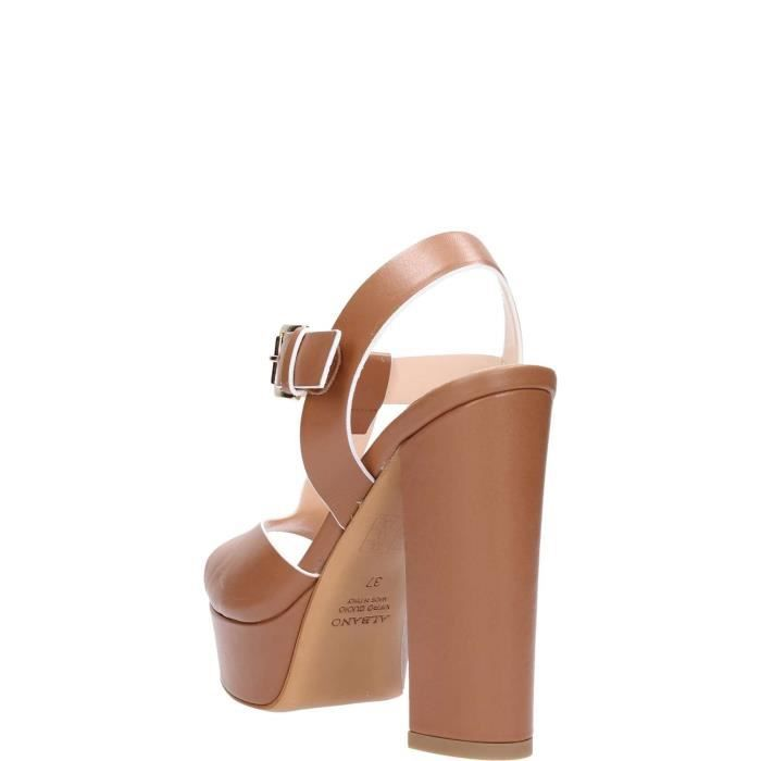 Leather Femme Albano Albano Leather Sandal Sandal CqnwzY