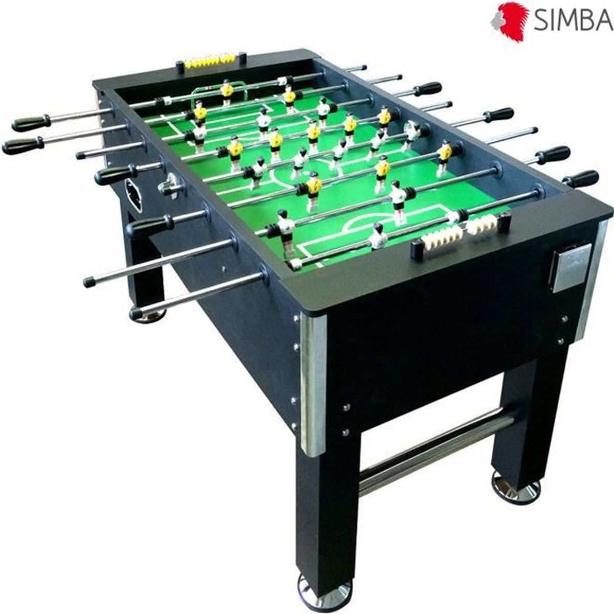 Table soccer babyfoot baby foot kg 60 table de jeu for Table de 6 9