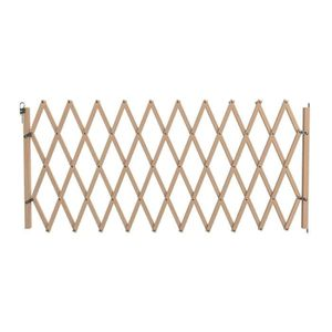 BARRIÈRE SÉCURITÉ CHIEN VADIGRAN Barrière en bois accordéon - 60-230 cm -