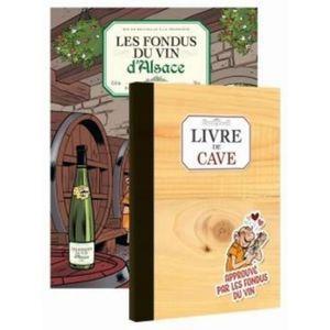 VIN BLANC Les fondus du vin d'Alsace. Pack en 2 volumes. Ave