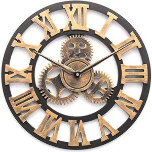 Horloge Murale Geante 80cm Achat Vente Pas Cher