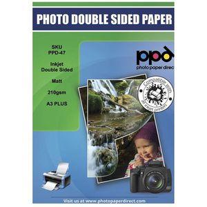 PAPIER PHOTO PPD - PPD-47-50  Jet d'encre Papier A3+ Couché Mat