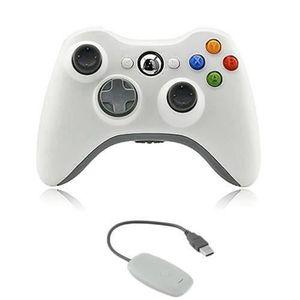 CAPUCHON STICK MANETTE Manette sans Fil pour Xbox 360, Manette de Jeu san