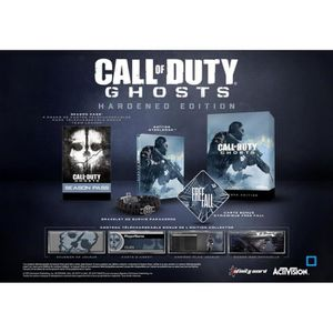 JEU PC CALL OF DUTY : GHOSTS - HARDENED EDITION [IMPOR…