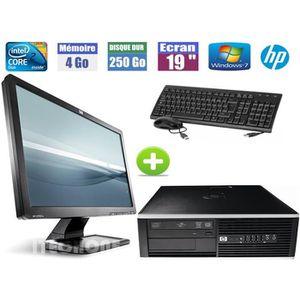 ORDI BUREAU RECONDITIONNÉ  Pc de Bureau HP 6000 Pro + Ecran Hp 19