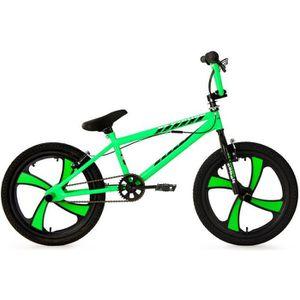 VÉLO BMX BMX Freestyle 20'' Cobalt vert fluo KS Cycling