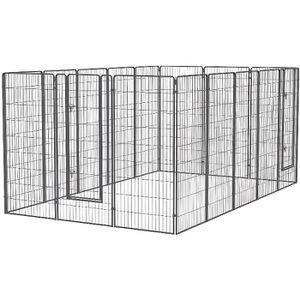 ENCLOS - CHENIL Kit Chenil pour chien Large 2,40m x 4m x 1,80m