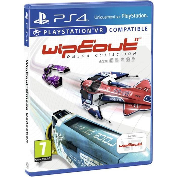 WipEout Omega Collection Jeu PS4
