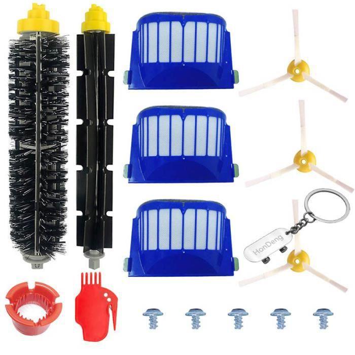Accessoire pour iRobot Roomba Série 600 Kit pour 600 605 610 615 616 620 621 625 630 631 632 650 651 660 670 680 691 696.