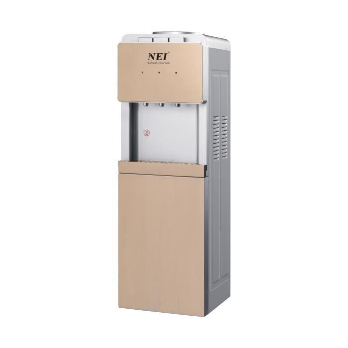 Distributeur d'eau au sol-NEI HSM-310LB-porte-gobelet-Blanc