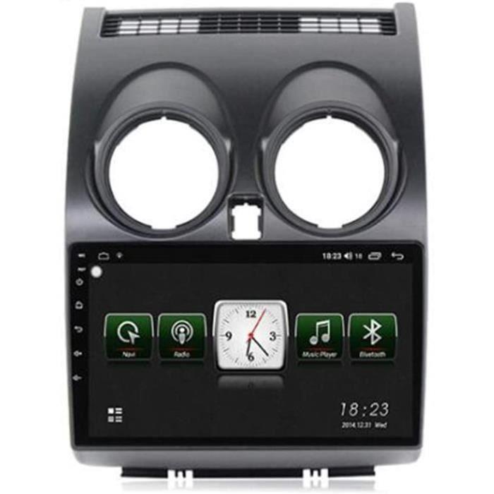 Autoradio Récepteur Multimédia Car Radio Dab Stéréo 9 Pouces Autoradio Bluetooth pour Nissan Qashqai J10 2006-2013 Main Libre[142]