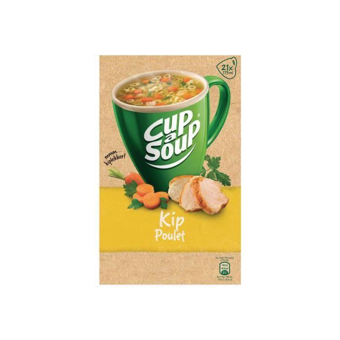 Unox Cup-a-Soup Kip Soupe instantanée pack de 21