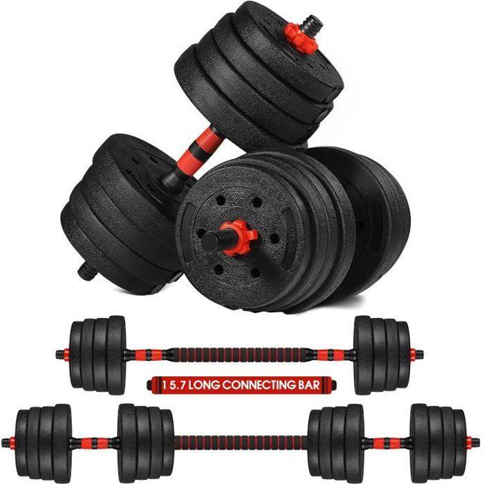 kit haltère réglable 30kg les haltères musculation