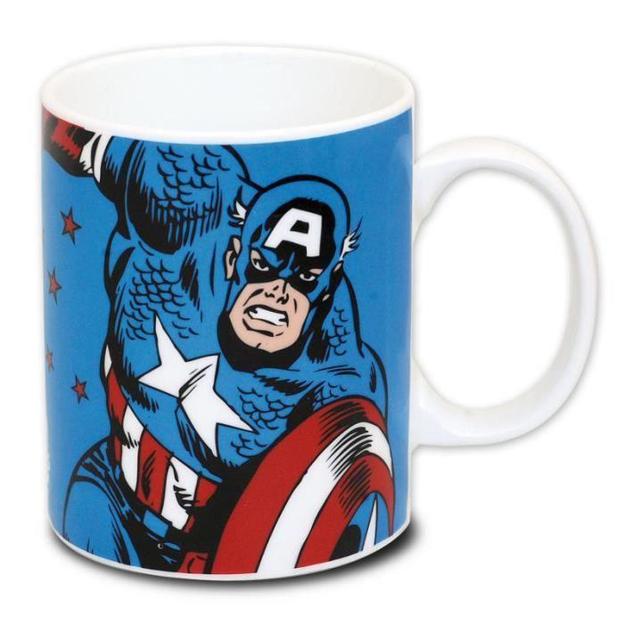 Tasse Captain America Marvel Comic