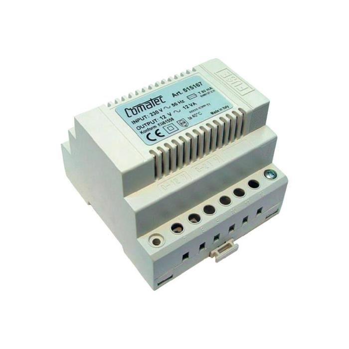 Heitronic Fiche dAlimentation 10/W 12/V Transformateur Alimentation Adaptateur AC heicon nect