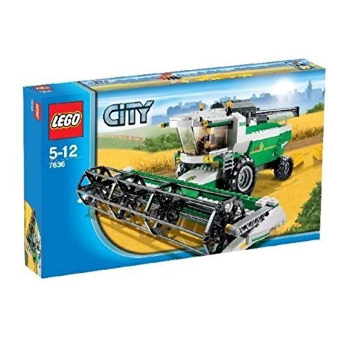 Jeu D'Assemblage LEGO LJAUT 7636 Ville Moissonneuse batteuse Ville Combine