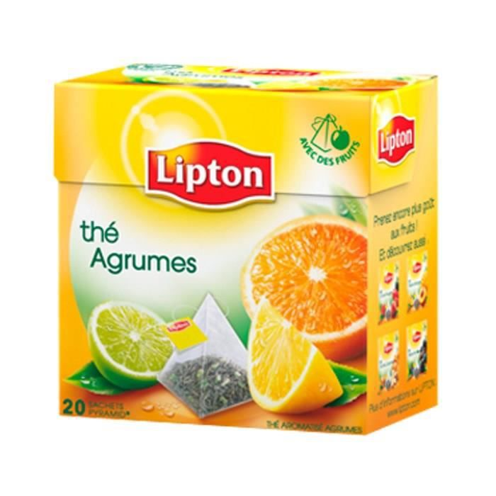 Thé Agrumes 36 GR Lipton