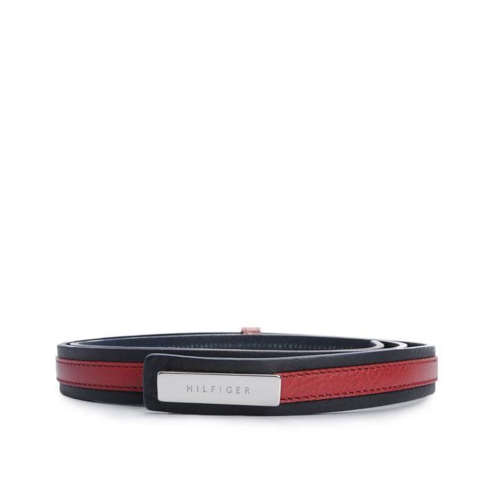 Tommy Hilfiger ceinture -Stripe Slim- - WW0WW01177 / Stripe Slim Belt