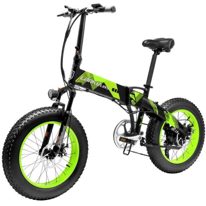1000W 20 pouces vélo d'assistance électrique 70 - 90km de gamme