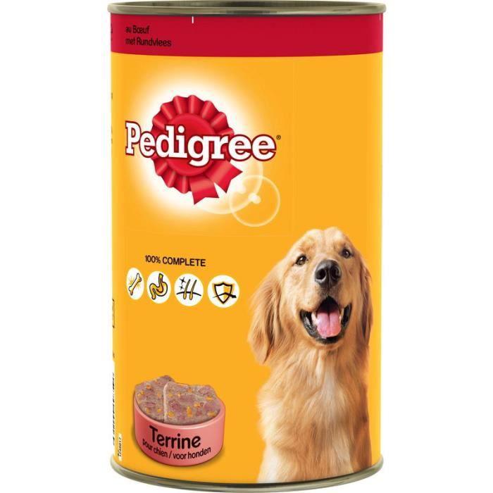 PEDIGREE -Pâté au bœuf pour chien adulte - Pour les chiens - 1,25kg