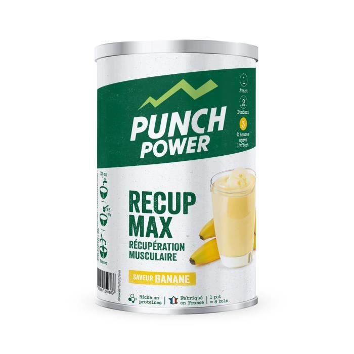 PUNCH POWER RÉPARATION MUSCULAIRE BANANE - POT 480 G