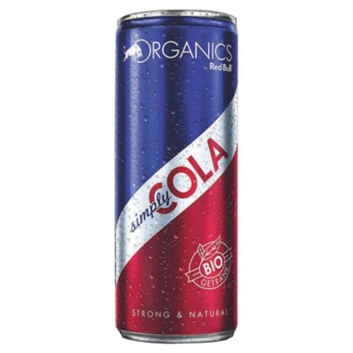 Red Bull - Red Bull Organics Simply Cola 25cl (pack de 12)