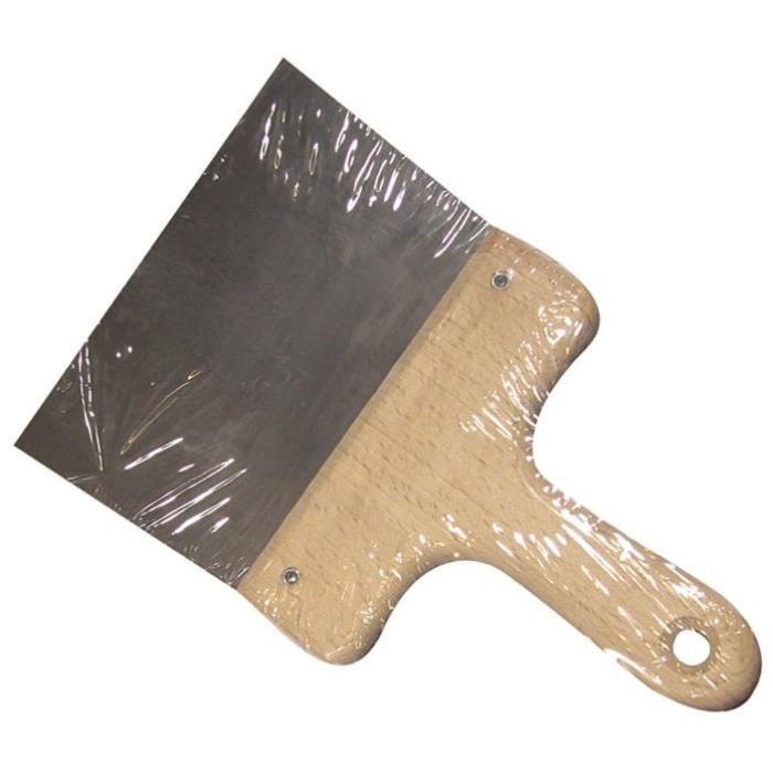 Couteau à enduire - acier - 16 cm