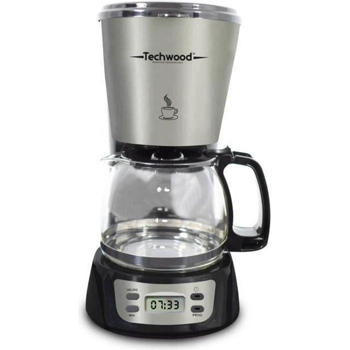 TECHWOOD TCA-840 Cafetière filtre programmable