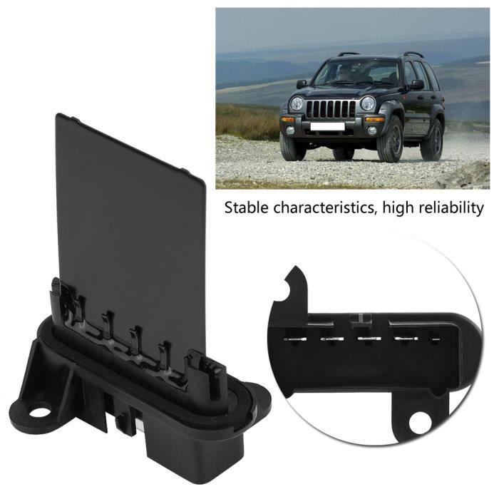 Résistance Moteur Ventilateur pour Jeep Cherokee Liberty 02-07 Wrangler 02-06
