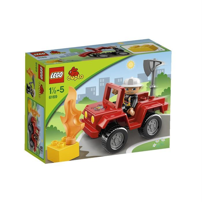 lego duplo 6169 le chef des pompiers achat vente. Black Bedroom Furniture Sets. Home Design Ideas