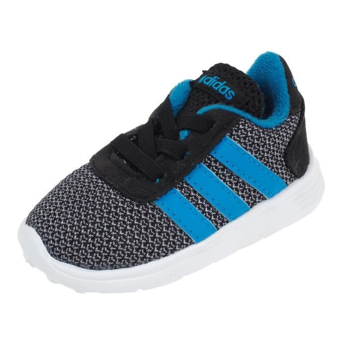 Chaussures running mode Lite racer kid noirbleu Adidas