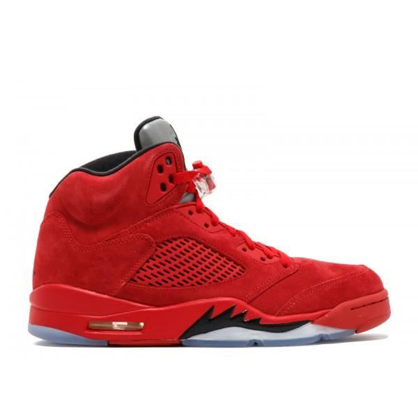 grand choix de d541e c5b5c Air Jordan 5 Retro Red Suede Rouge Rouge - Achat / Vente ...
