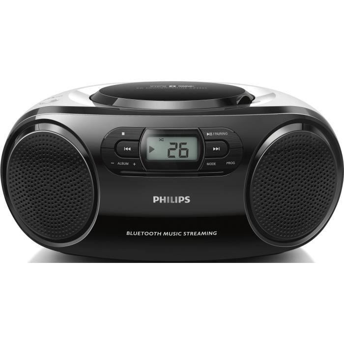 philips az330t lecteur de cd radio cd cassette avis et prix pas cher cdiscount. Black Bedroom Furniture Sets. Home Design Ideas