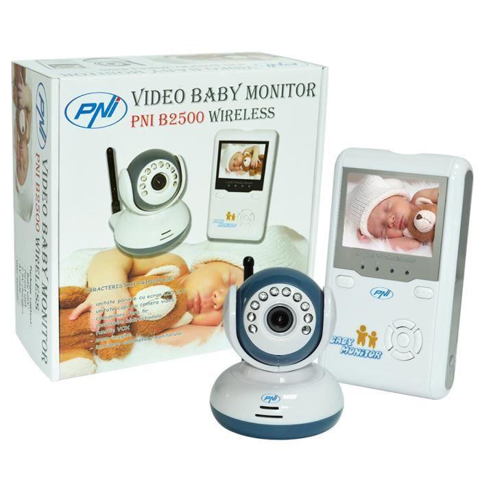 Moniteur de bébé Audio PNI B5500