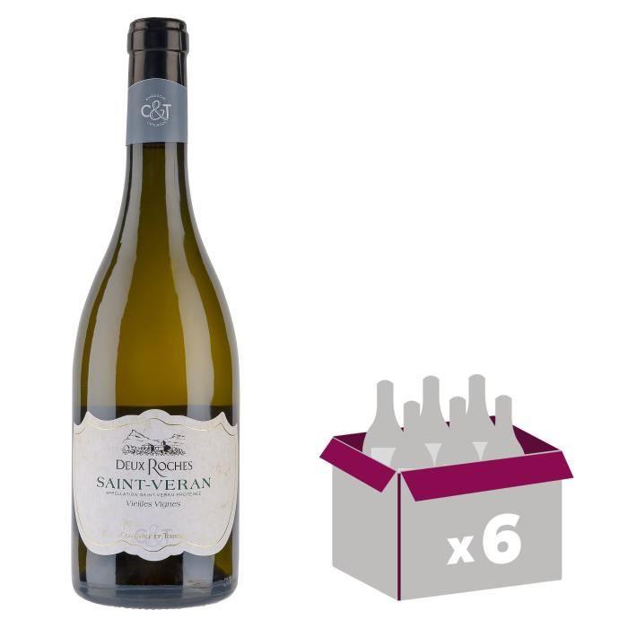 Deux Roches Vieilles Vignes 2016 Saint-Véran - Vin blanc de Bourgogne