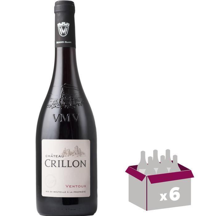 Château Crillon 2016 Ventoux - Vin rouge des Côtes du Rhône